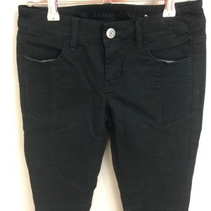 American Eagle Outfitters Jeans - American Eagle Forest Green Moto Jegging Ankle